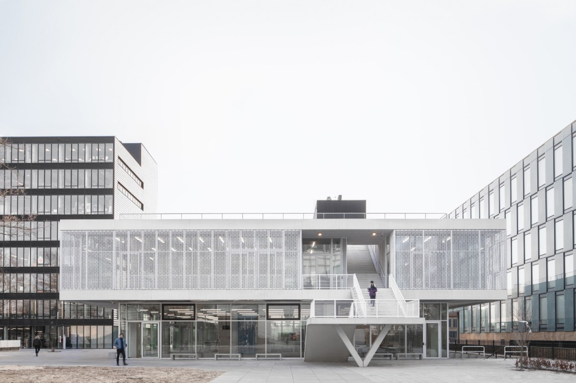 New building Gerrit Rietveld Academie and Sandberg Instituut