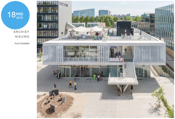 Architecture Relay #6 visits Expansion Rietveld Academie
