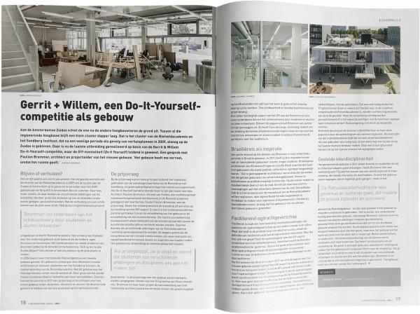 Architectuur Lokaal publishes Expansion Rietveld Academie + Sandberg Instituut