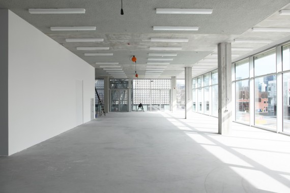New building Gerrit Rietveld Academy and Sandberg Institute