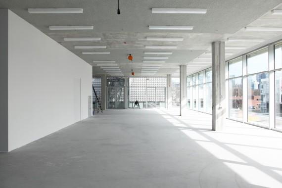 New building Gerrit Rietveld Academy and Sandberg Institute